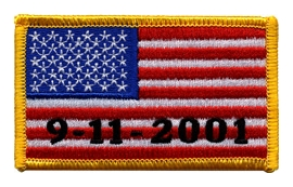 9-11-01 Flag Patch