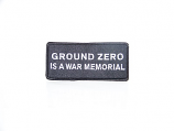 Ground Zero War Memorial Patch
