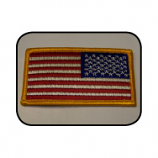 Right Reading USA Flag Patch