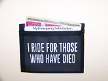I Ride For Those Who Have Died Pocket Patch