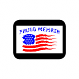 Proud Member USA Decal