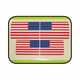 USA Flag Mail Box Decal (Set of 4)