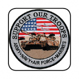 Support Our Troops Tank Patch